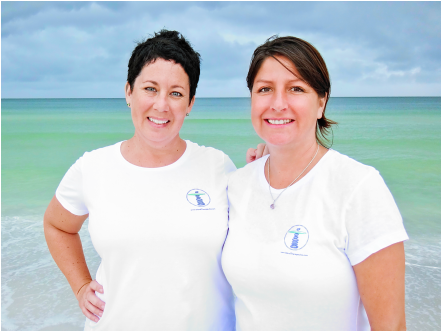 Karen Abel, Jennifer Washington, massage on Anna Maria Island, massage therapists